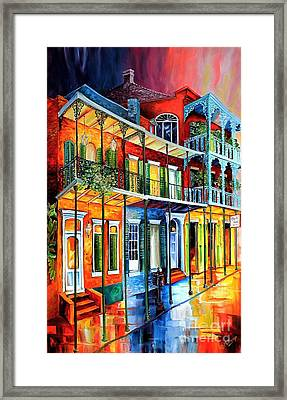 Colors Of The French Quarter Framed Print by Diane Millsap