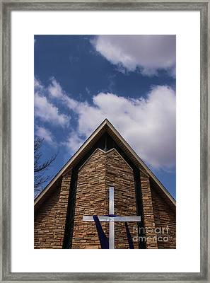 Colors Of The Lenten Season Framed Print by Laura Deerwester