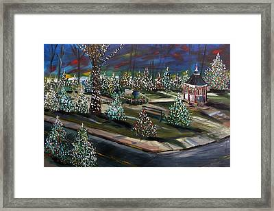 Colors Of The Night Framed Print