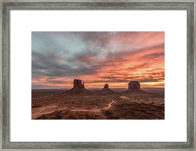 Colors Of The Past Framed Print