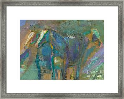 Colors Of The Southwest Framed Print by Frances Marino