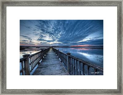 Colors Of The Wando Framed Print