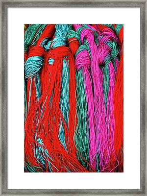 Colors Of Tibet Framed Print