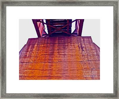 Colors Of Time Framed Print by Chuck Taylor