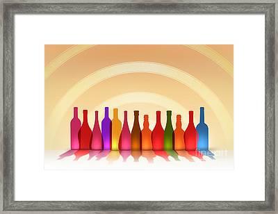 Colors Of Wine Framed Print by Bedros Awak