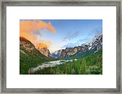 Colors Of Yosemite Framed Print