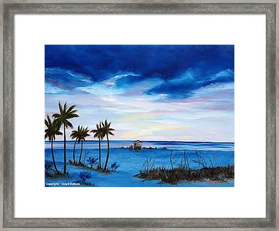 Colors On The Gulf Framed Print