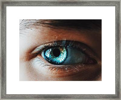 Framed Print featuring the photograph Colors by Parker Cunningham