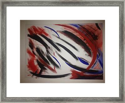 Abstract Colors Framed Print by Sheila Mcdonald