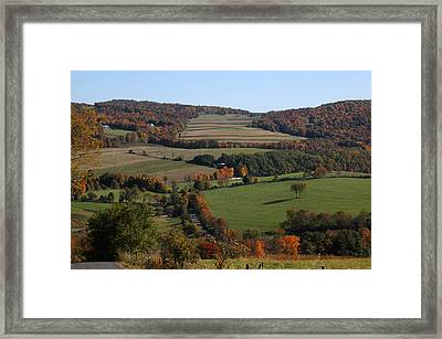 Colors Framed Print by William A Lopez