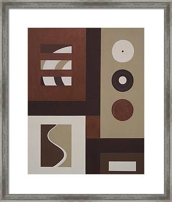 Colors Without Purpose 1 Framed Print by Sandy Bostelman