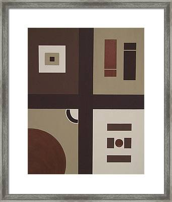 Colors Without Purpose 2 Framed Print by Sandy Bostelman