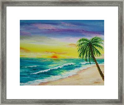 Colorset Framed Print by Patti Bean
