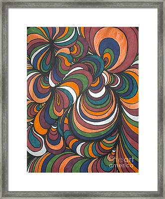 Colorway 4 Framed Print