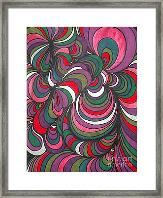 Colorway 5 Framed Print