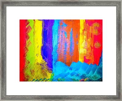 Colorz Framed Print by Piety Dsilva