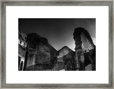 Coloseo 1 Framed Print by Brian Thomson