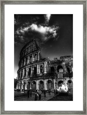 Coloseo 2 Framed Print by Brian Thomson