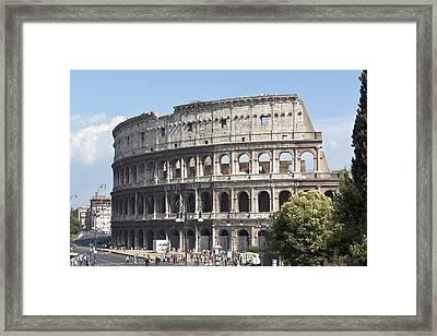 Colosseo I Framed Print by Fabrizio Ruggeri