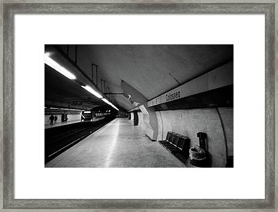 Colosseo Station Framed Print