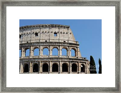 Colosseum Or Coliseum Framed Print by Edward Fielding