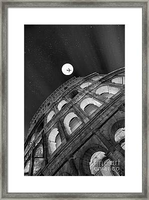 Colosseum Panorama Framed Print