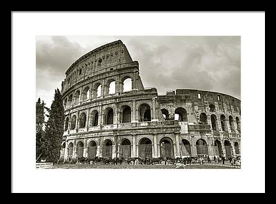 Colosseum Framed Prints