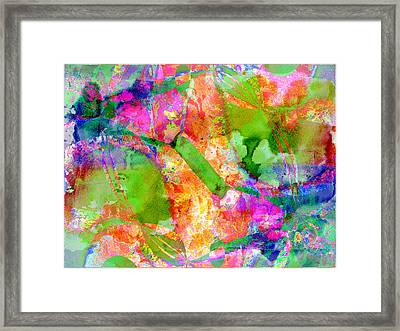 Colour Framed Print
