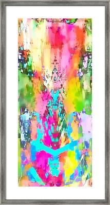 Colour Explosion Framed Print by Tom Gowanlock