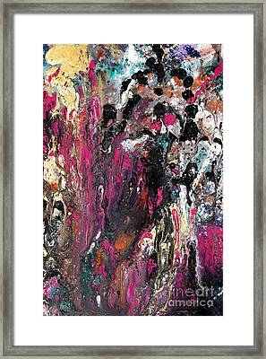 Colour Fantasy Framed Print