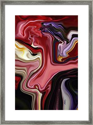 Colour Hair Day  Framed Print by Rabi Khan