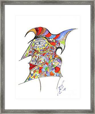 Colour In Mind Framed Print by Peter Saltz