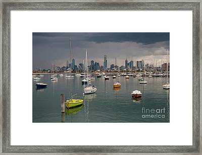 Colour Of Melbourne 2 Framed Print