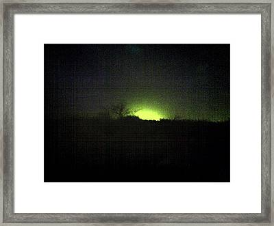 Colour Out Of Space Framed Print