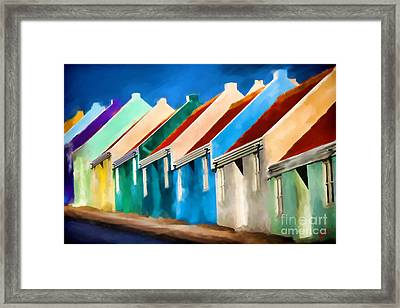 Framed Print featuring the photograph Coloured by Jim  Hatch