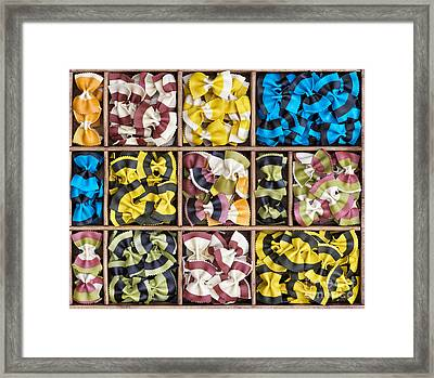 Colourful Bow Ties  Framed Print by Tim Gainey