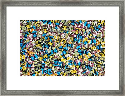 Colourful Butterflies Framed Print by Tim Gainey