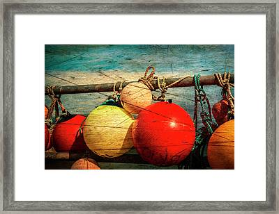 Colourful Fenders In A Distressed State. Framed Print by Paul Cullen