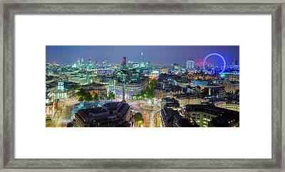 Colourful London Framed Print