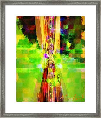 Framed Print featuring the photograph Colourful by Miriam Shaw