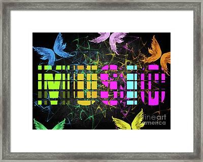Colourful Music 1 Framed Print by Prar Kulasekara