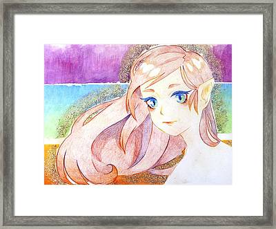 Colours Framed Print by Isa Serrano