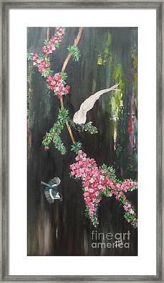 Colours Of Life Framed Print by Usha Rai