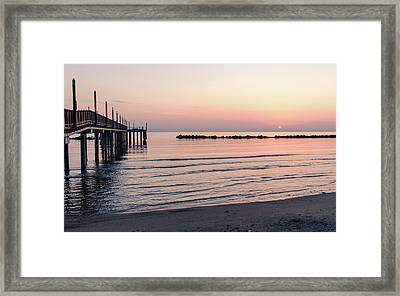 Colours Of The Morning Framed Print
