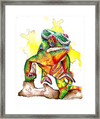 Colours Of The Wild Framed Print