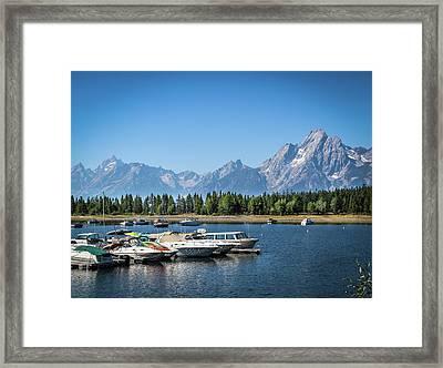 Colter Bay Framed Print by EG Kight
