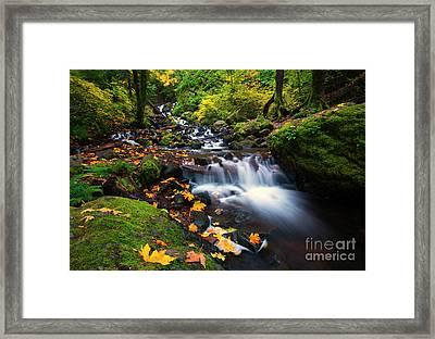 Columbia Gorge Autumn Framed Print