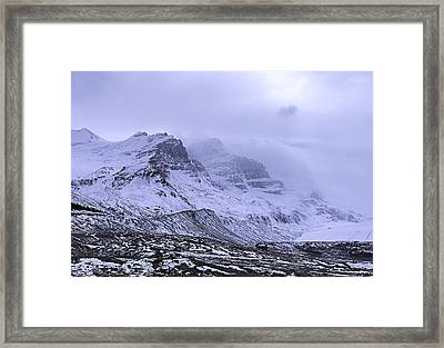 Columbia Ice Fields Framed Print