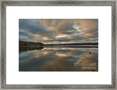 Columbia Lake Framed Print