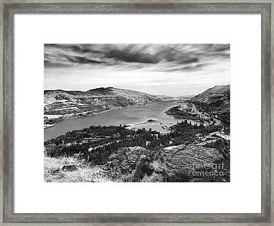 Columbia Roll On Framed Print